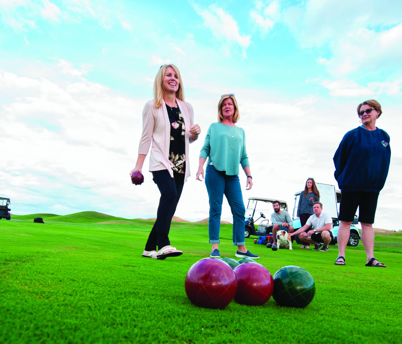 An Ancient Sport Gets a Makeover During Summer Nights at Predator Ridge
